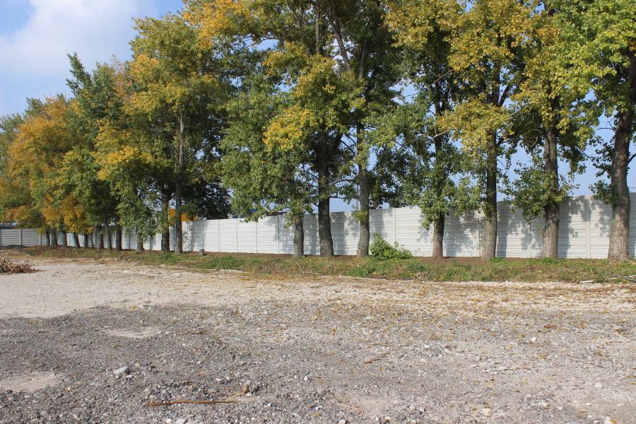 Betónový plot, Modranka
