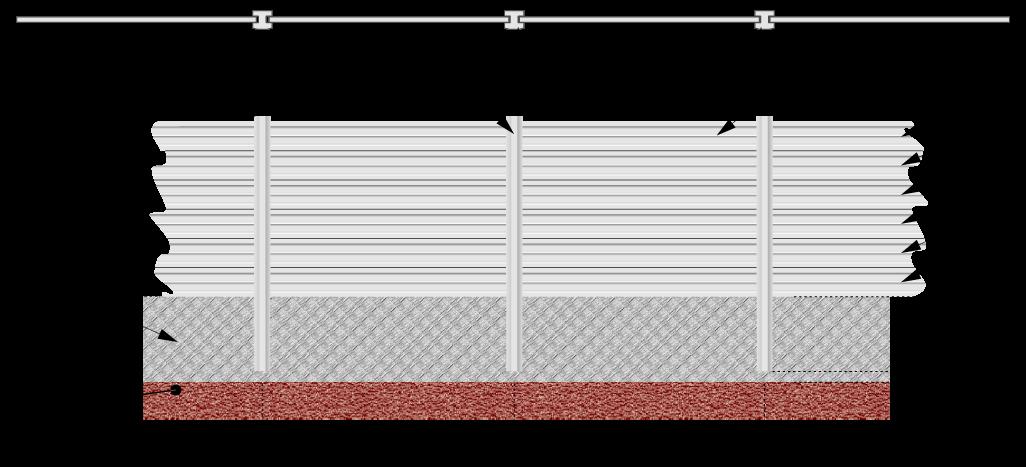 montáž s betónovým základom
