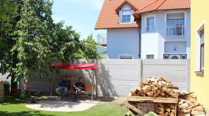 Betónový plot dokonale ochráni súkromie pozemku