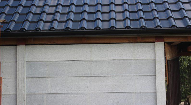 Z dosiek TR beton môžeme postaviť pevné steny pre rôzne jednoduché stavby