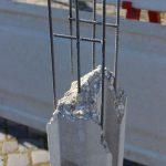 Použitie zváranej armatúry ako výstuže betónového stĺpa